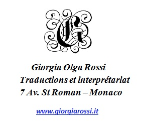 GIORGIA OLGA ROSSI TRADUCTION ET INTERPRETARIAT